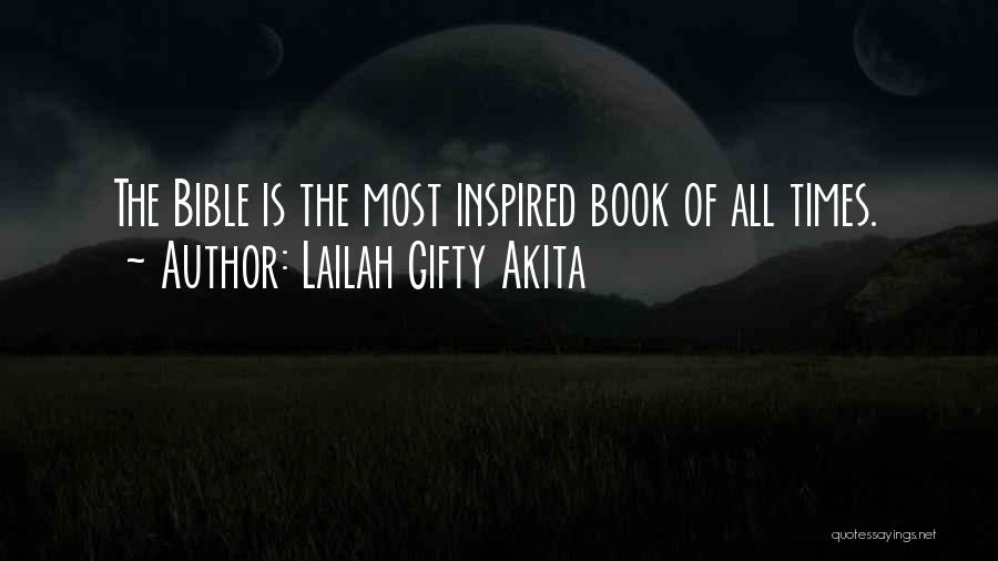 Learning The Bible Quotes By Lailah Gifty Akita