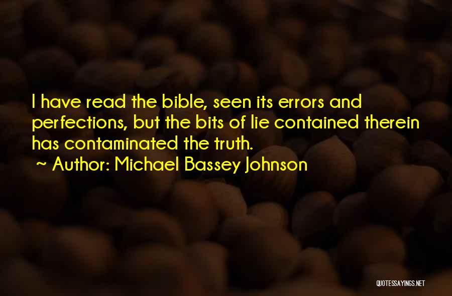 Learning The Bible Quotes By Michael Bassey Johnson