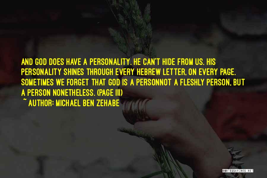 Learning The Bible Quotes By Michael Ben Zehabe