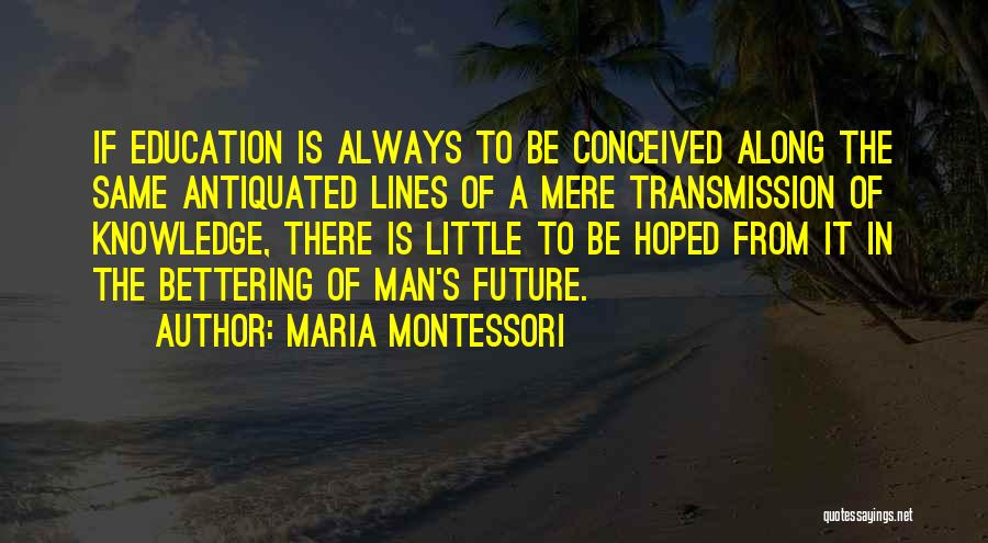 Learning To Get Along Quotes By Maria Montessori
