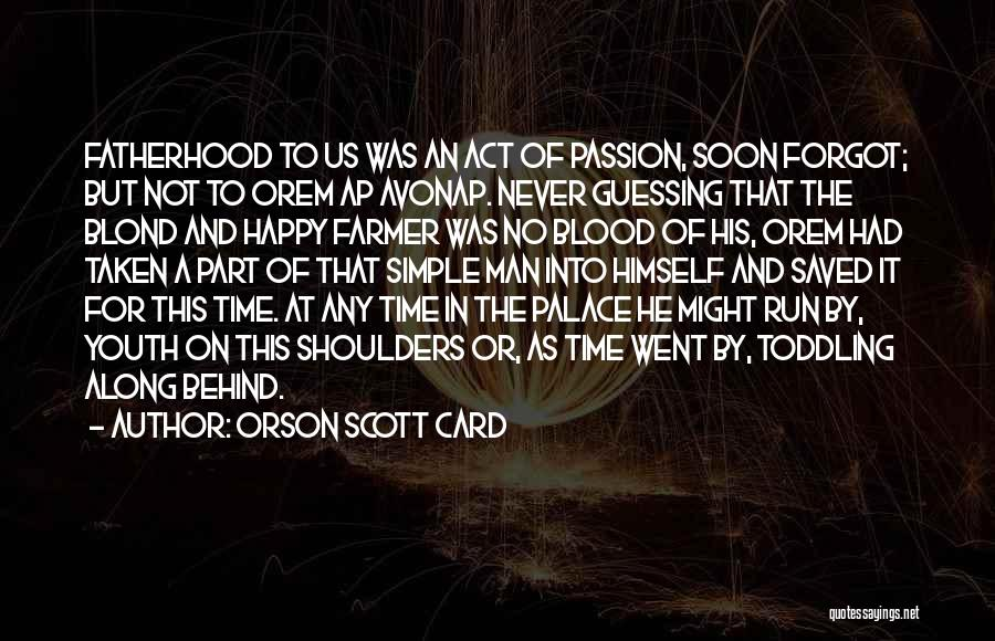 Learning To Get Along Quotes By Orson Scott Card