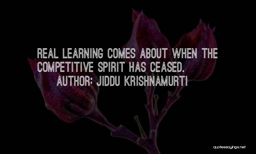 Learning While Teaching Quotes By Jiddu Krishnamurti