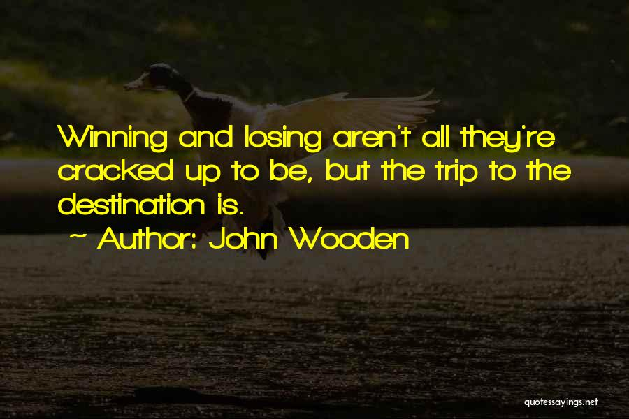 Learning While Teaching Quotes By John Wooden