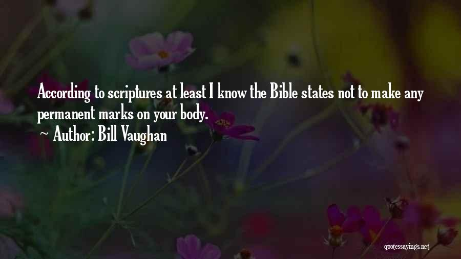 Least Of These Bible Quotes By Bill Vaughan