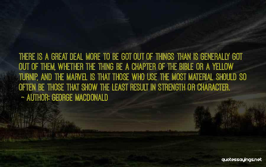 Least Of These Bible Quotes By George MacDonald