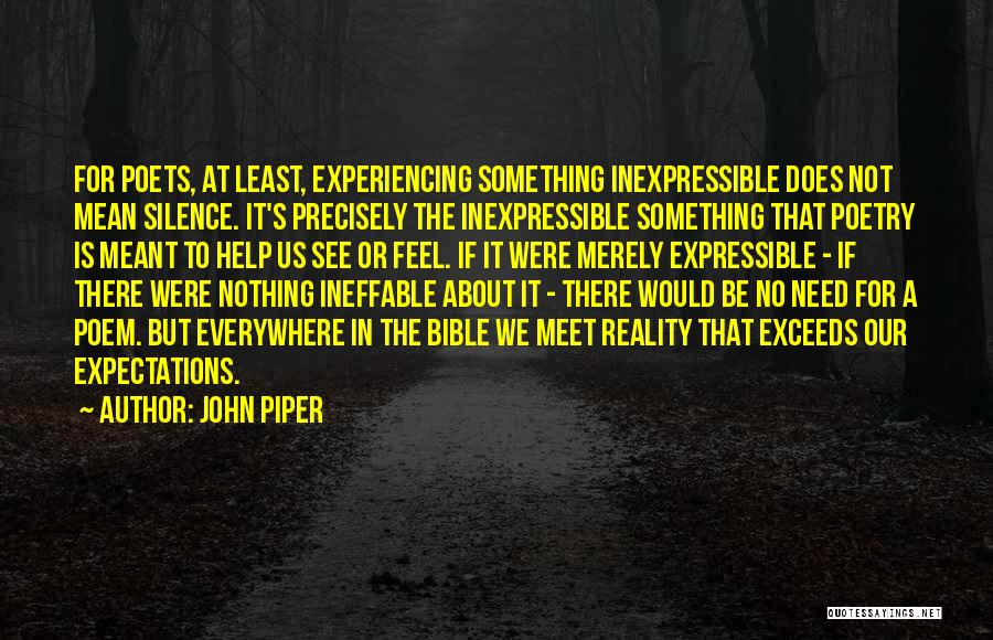 Least Of These Bible Quotes By John Piper