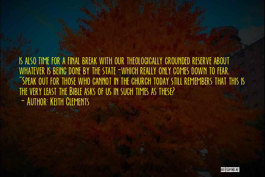 Least Of These Bible Quotes By Keith Clements