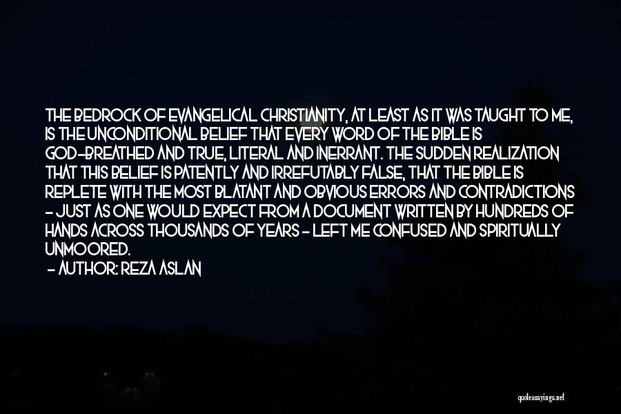 Least Of These Bible Quotes By Reza Aslan