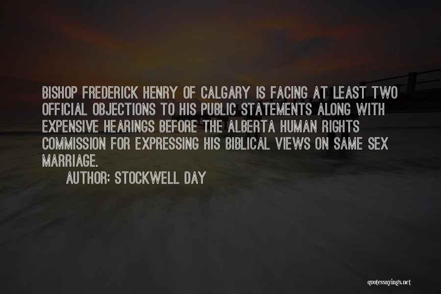 Least Of These Bible Quotes By Stockwell Day