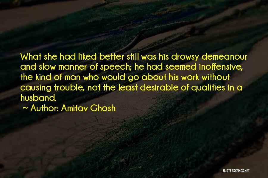 Least Quotes By Amitav Ghosh