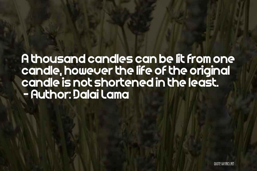 Least Quotes By Dalai Lama
