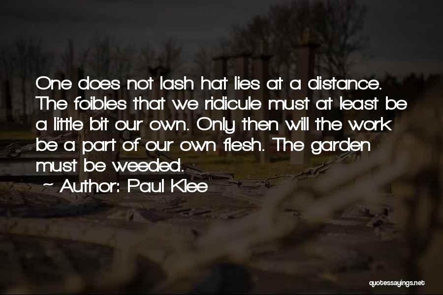 Least Quotes By Paul Klee