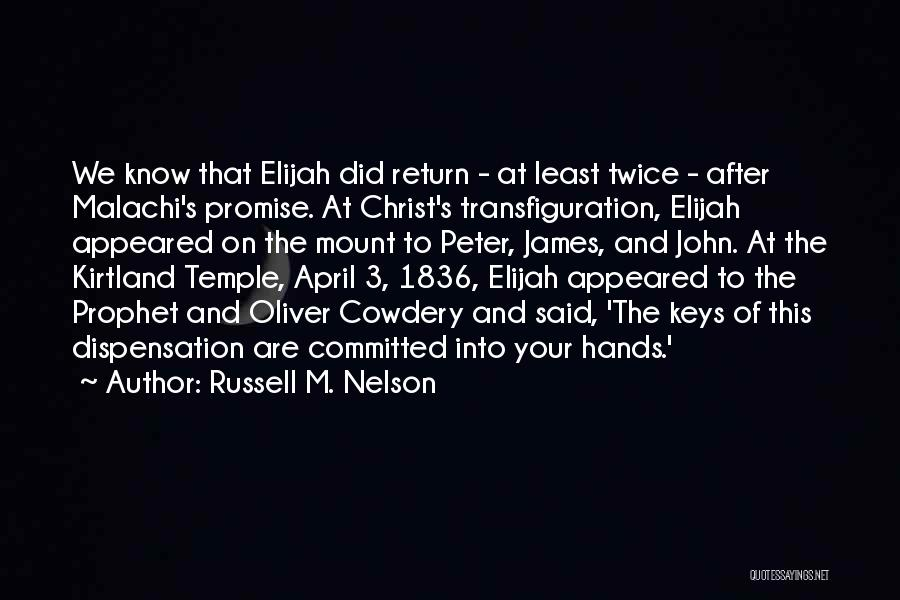 Least Quotes By Russell M. Nelson