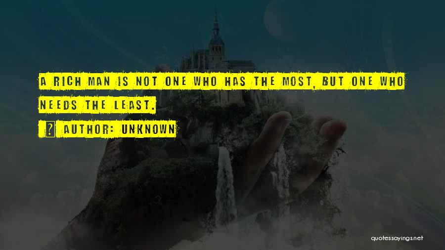 Least Quotes By Unknown