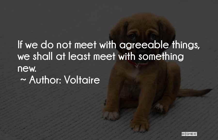 Least Quotes By Voltaire