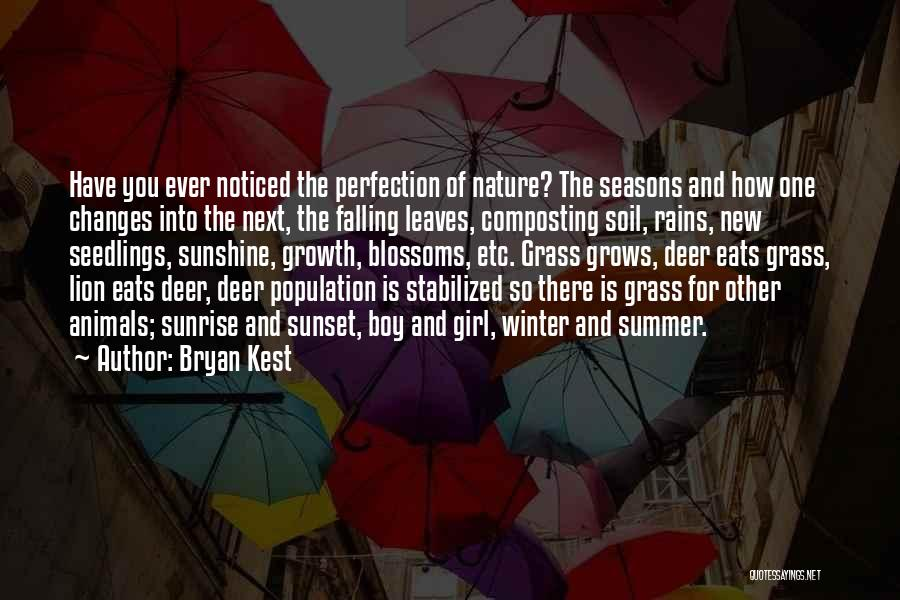 Leaves Of Grass Quotes By Bryan Kest