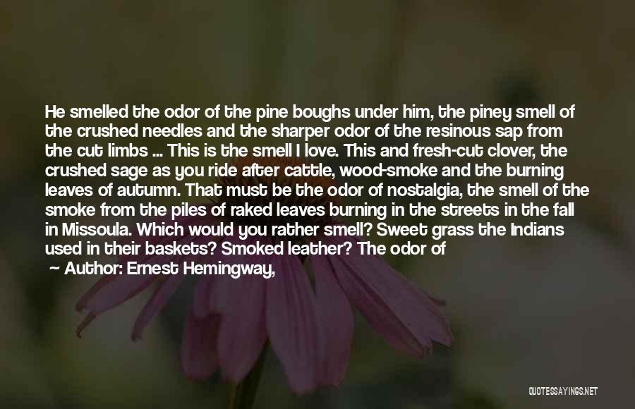 Leaves Of Grass Quotes By Ernest Hemingway,
