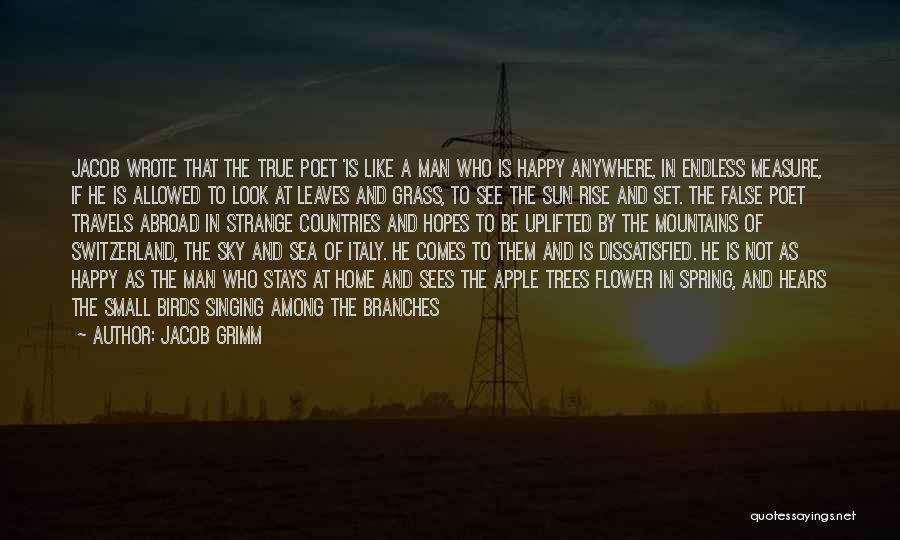 Leaves Of Grass Quotes By Jacob Grimm