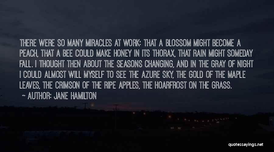 Leaves Of Grass Quotes By Jane Hamilton