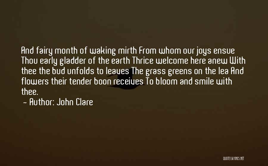 Leaves Of Grass Quotes By John Clare