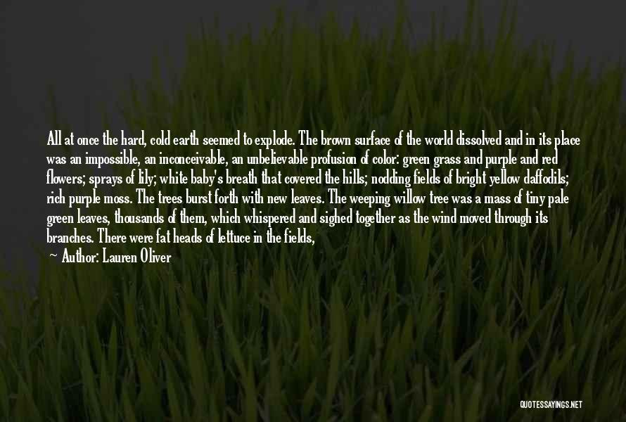 Leaves Of Grass Quotes By Lauren Oliver