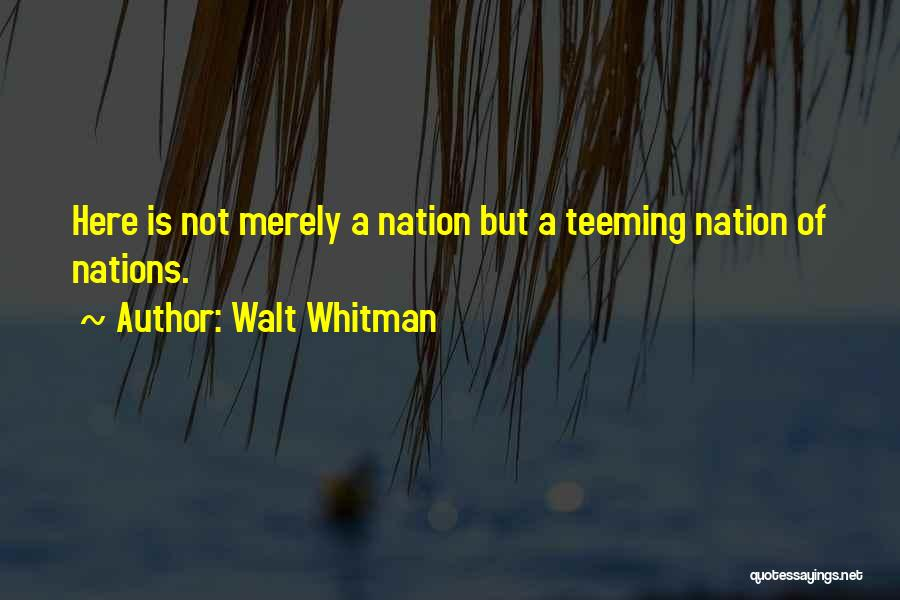 Leaves Of Grass Quotes By Walt Whitman
