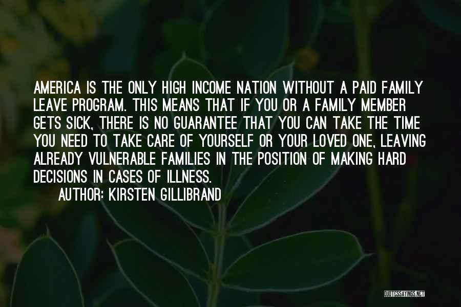 Leaving A Position Quotes By Kirsten Gillibrand