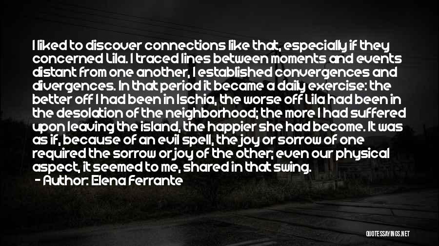 Leaving Friends In The Past Quotes By Elena Ferrante
