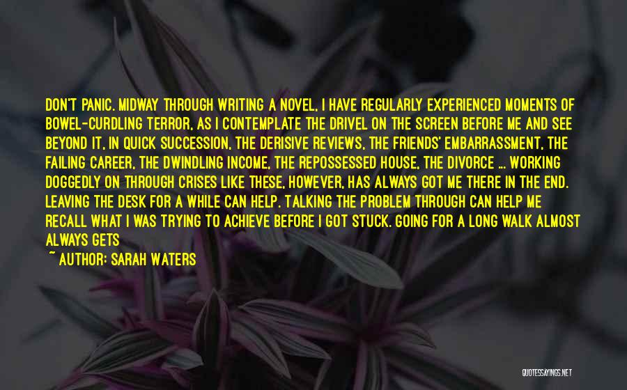 Leaving Friends In The Past Quotes By Sarah Waters
