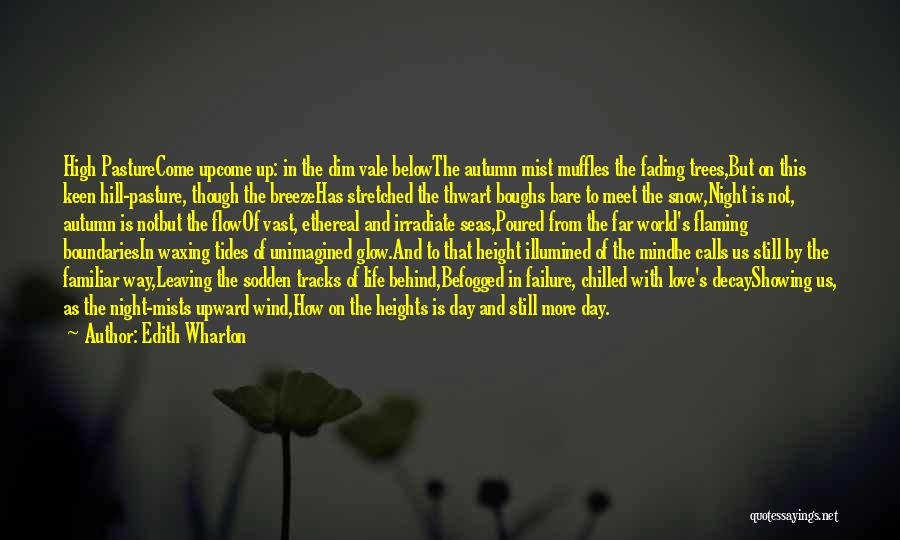 Leaving Life Quotes By Edith Wharton