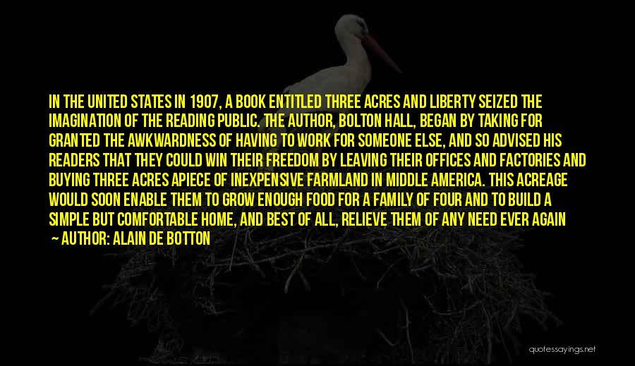 Leaving So Soon Quotes By Alain De Botton