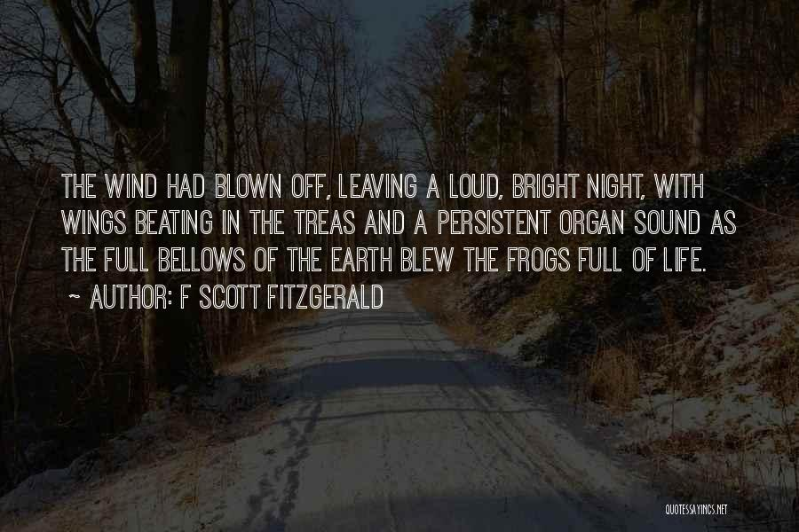 Leaving So Soon Quotes By F Scott Fitzgerald