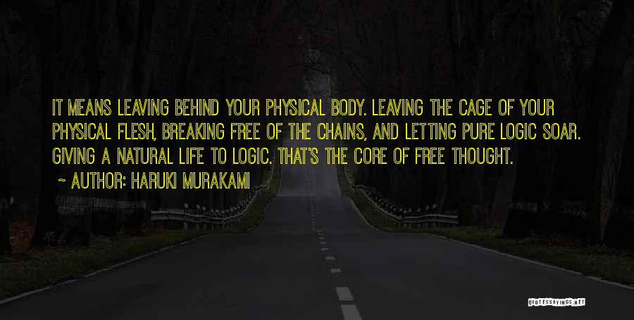 Leaving So Soon Quotes By Haruki Murakami