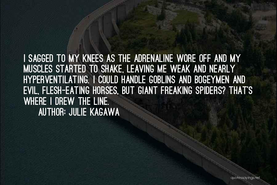 Leaving So Soon Quotes By Julie Kagawa