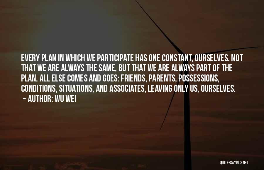 Leaving Someone In The Past Quotes By Wu Wei