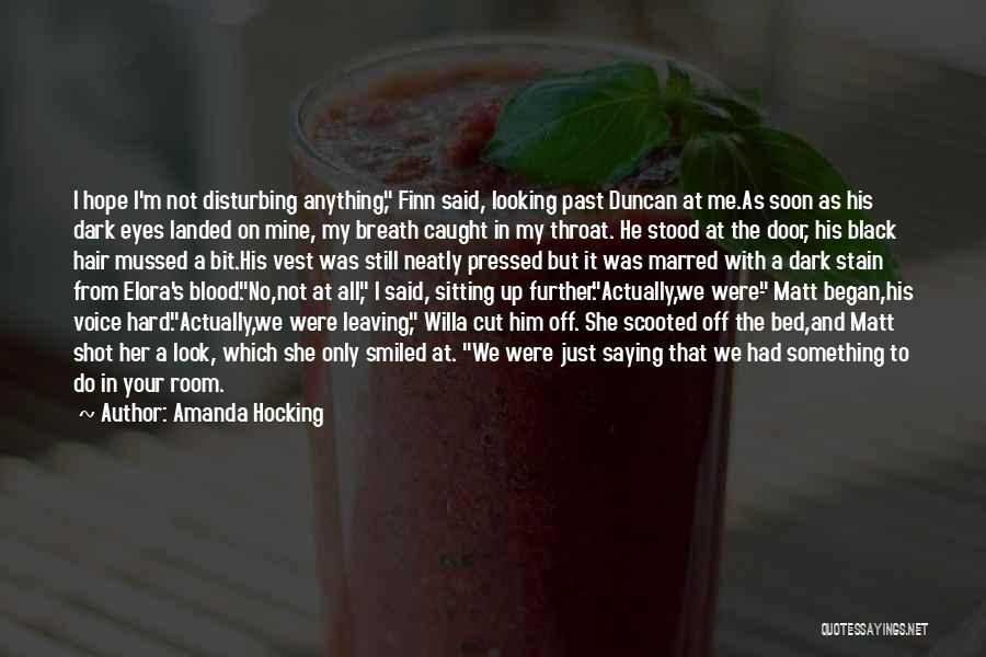 Leaving The Past In The Past Quotes By Amanda Hocking