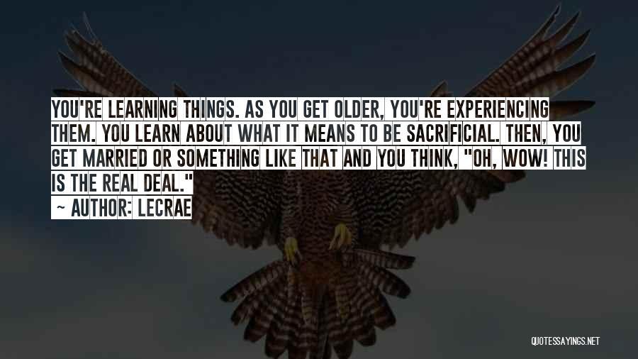 LeCrae Quotes 1044219