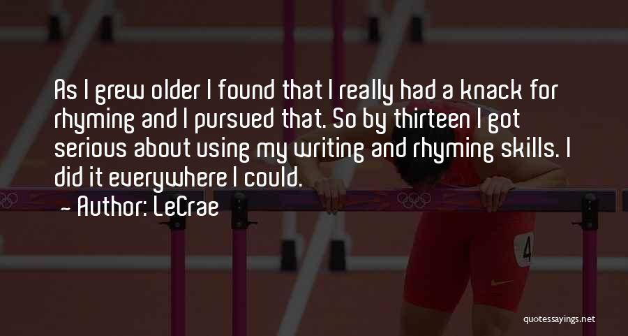 LeCrae Quotes 1825743