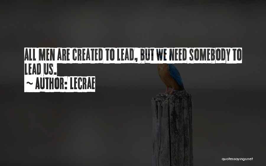 LeCrae Quotes 2192059