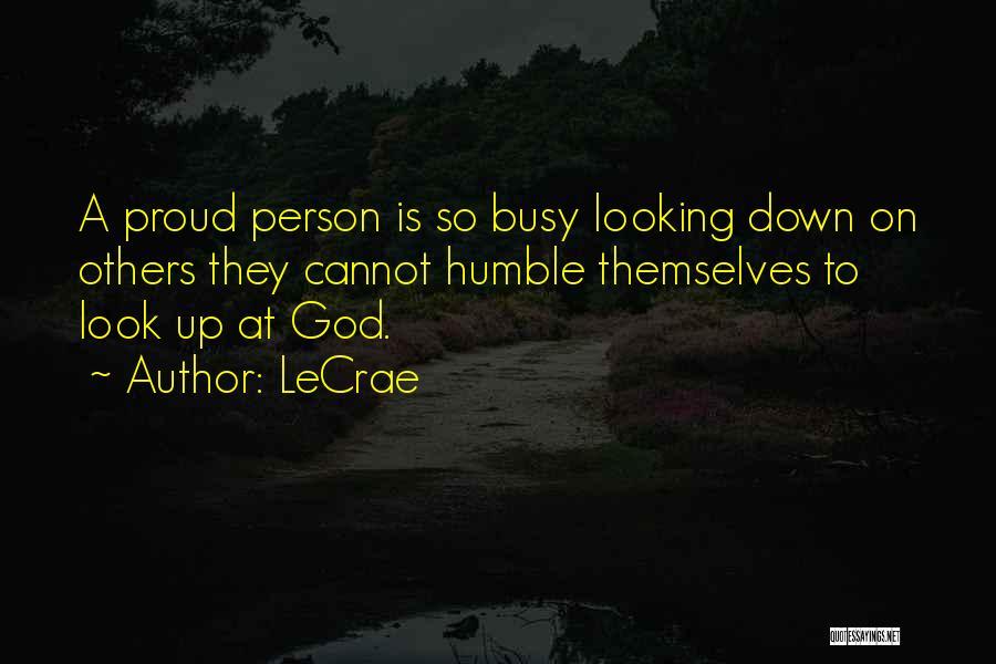 LeCrae Quotes 698588