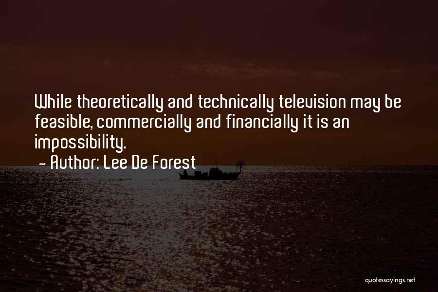 Lee De Forest Quotes 1759788