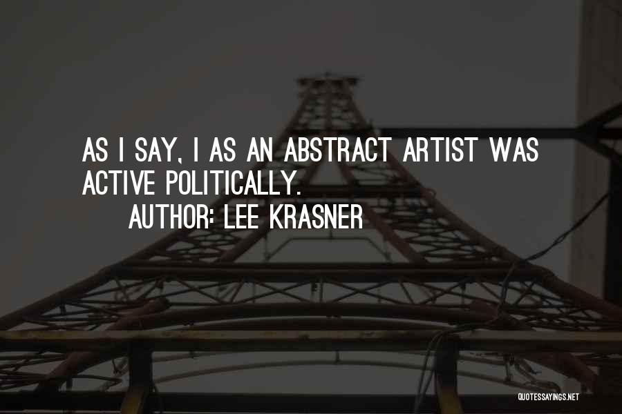 Lee Krasner Quotes 2055866