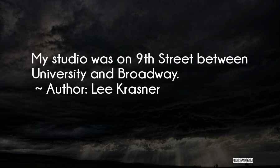 Lee Krasner Quotes 253964