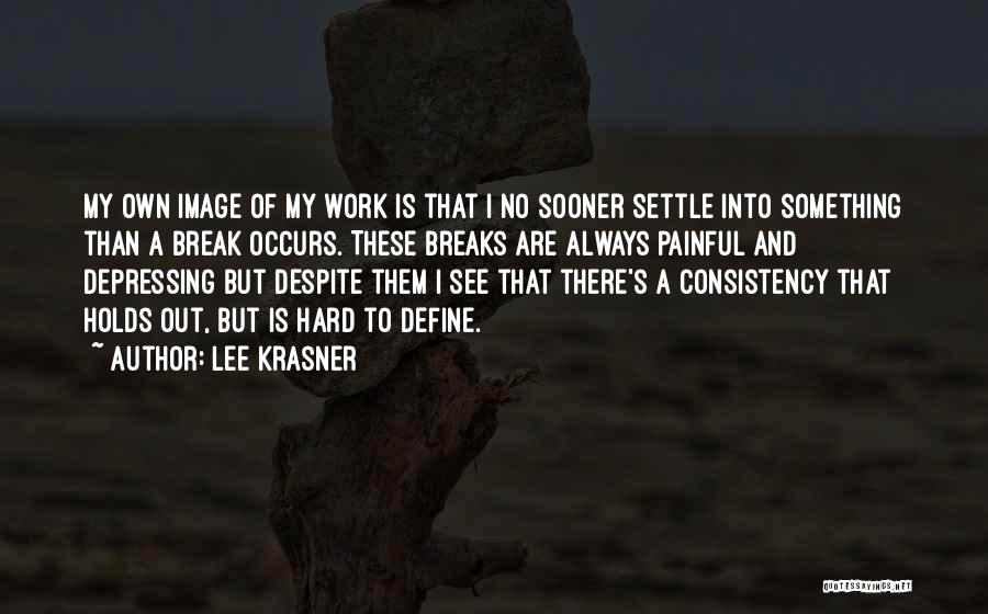 Lee Krasner Quotes 366332