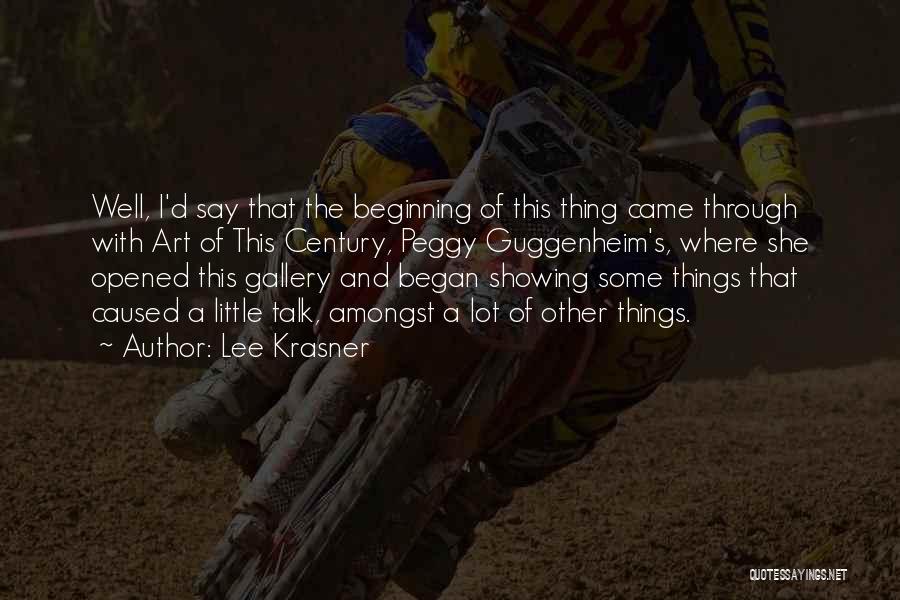 Lee Krasner Quotes 637004