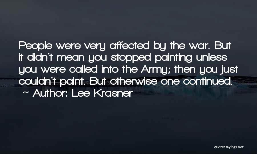 Lee Krasner Quotes 692294