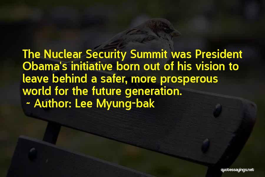 Lee Myung-bak Quotes 1219829