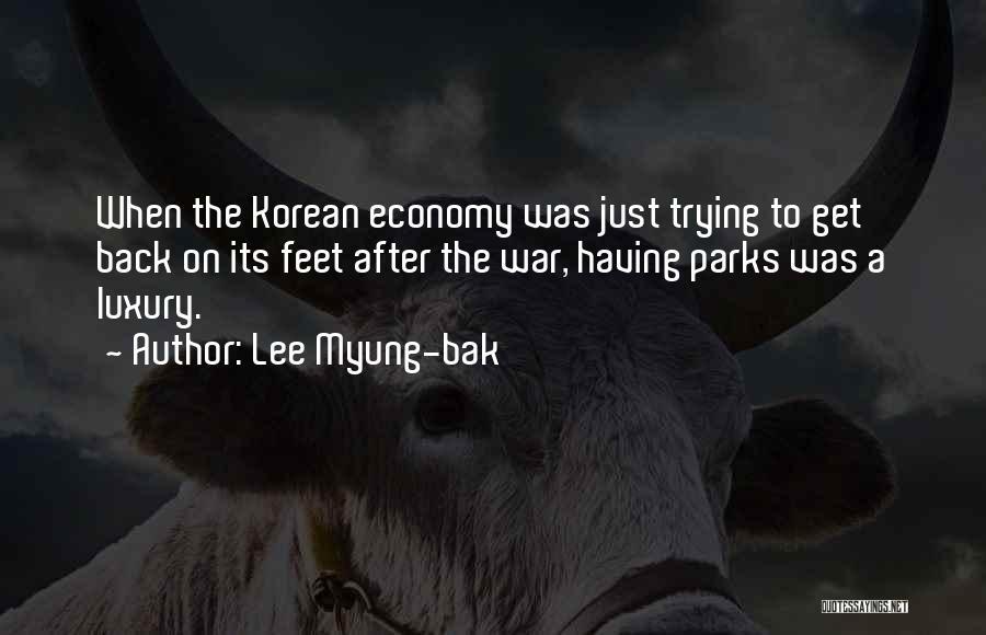 Lee Myung-bak Quotes 1388766