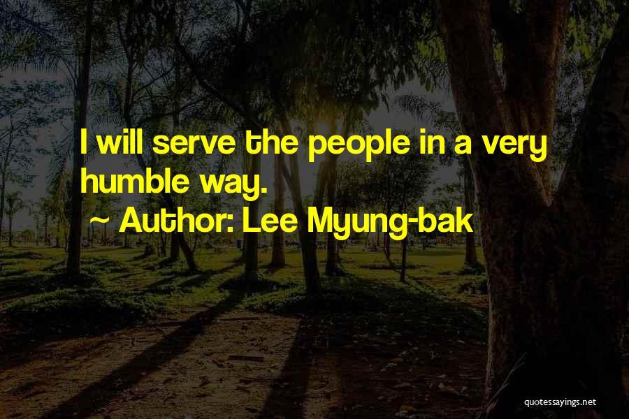 Lee Myung-bak Quotes 1430493