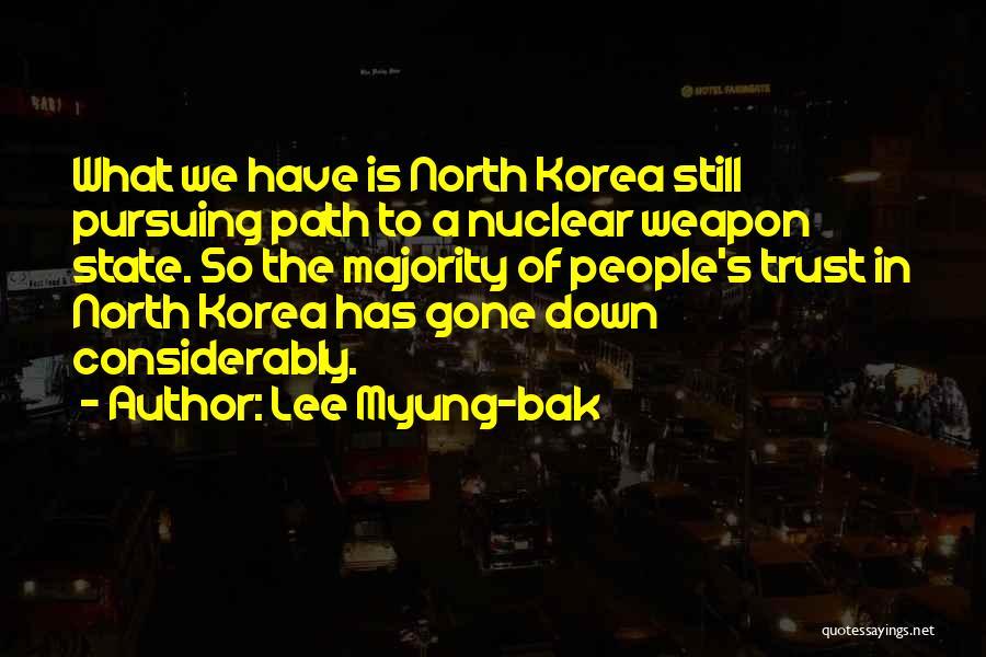 Lee Myung-bak Quotes 237687